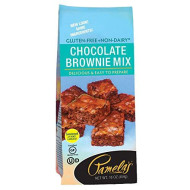Pamelas, Mix Brownie Irrsstbl Wf Gf, 16 Oz, (Pack Of 6)
