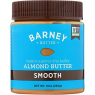 Barney Butter, Nut Butter Almnd Smooth, 10 Oz, (Pack Of 6)