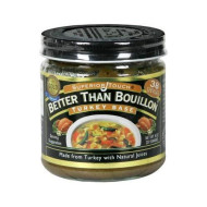 Better Than Bouillon, Base Bouillon Turkey, 8 Oz, (Pack Of 6)