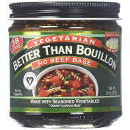 Better Than Bouillon, Base Vegan Vgtrn No Beef, 8 Oz, (Pack Of 6)