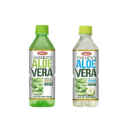 OKF Farmer's Aloe Vera Drink, Original and Coco, 16.9 Fluid Ounce (Pack of 20 each)