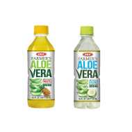OKF Farmer's Aloe Vera Drink, Pineapple and Coco, 16.9 Fluid Ounce (Pack of 20 each)