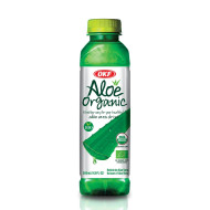 OKF ORGANIC ALOE DRINK - W/PULP - 500ml/ 20