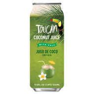 TOUCAN COCONUT WATER W/ PULP IN CAN - 24 x 11.15oz