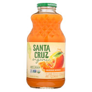 Santa Cruz Organic Juice - Orange Mango - Case Of 12 - 32 Fl Oz.