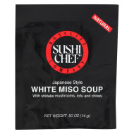 Sushi Chef Soup Mix - Miso White - .5 Oz - Case Of 12