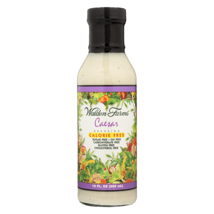 Walden Farms Dressing - Caesar - Case of 6 - 12 fl oz