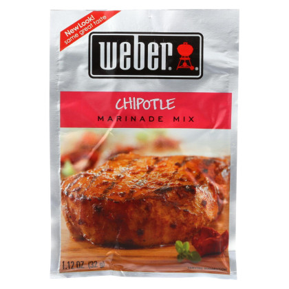 Weber Grill Creations Marinades - Case of 12 - 1.12 oz