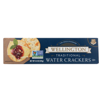 Wellington Traditional - Water Cracker - Case of 12 - 4.4 oz.