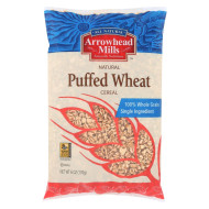 Arrowhead Mills Puffed Wheat Cereal - Case of 12 - 6 oz