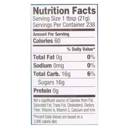 Wholesome Sweeteners Blue Agave - Organic Raw - Case of 2 - 176 oz.