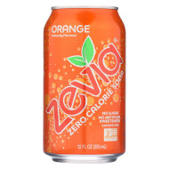 Zevia Soda - Zero Calorie - Orange - Can - 6/12 Oz - Case Of 4