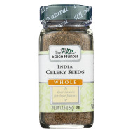 Spice Hunter Celery Seed - Whole - India - Case of 6 - 1.8 oz