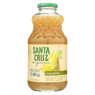 Santa Cruz Organic Juice - Pear Nectar - Case Of 12 - 32 Fl Oz.