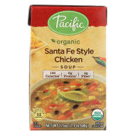 Pacific Natural Foods Chicken Soup - Santa Fe Style - Case Of 12 - 17.6 Oz.