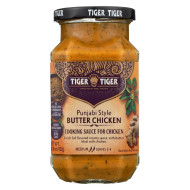 Tiger Tiger Sauce - Punjabi Butter Chicken - Case Of 6 - 14.8 Oz