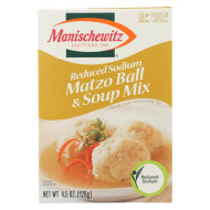 Manischewitz Soup Mix - Matzo Ball - L/S - Case Of 12 - 4.5 Oz