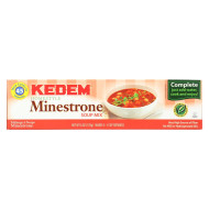 Kedem Minestrone Soup Mix - Case Of 24 - 6 Oz.