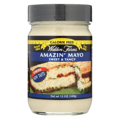 Walden Farms Mayo - Miracle - Case of 6 - 12 oz