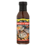 Walden Farms Barbecue Sauce - Thick & Spicy - Case Of 6 - 12 Oz