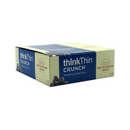Think Products thinkThin Crunch Bar - Crunch Blueberry Mixed Nuts - 1.41 oz - Case of 10