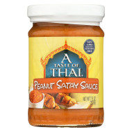 Taste Of Thai Peanut Satay Sauce - Case Of 6 - 7 Oz.