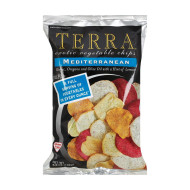 Terra Chips Exotic Vegetable Chips - Mediterranean - Case Of 12 - 6.8 Oz.