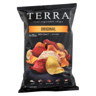 Terra Chips Exotic Vegetable Chips - Original - Case Of 12 - 6.8 Oz.
