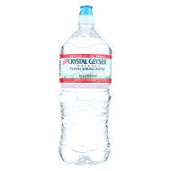 Crystal Geyser Alpine Spring Water - Case of 15 - 33.8 Fl oz.