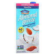 Almond Breeze Almondmilk Coconutmilk Blended - Vanilla Almond Coconut - Case Of 12 - 32 Fl Oz
