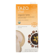 Tazo Tea Organic Tea - Chai Latte - Case Of 6 - 32 Fl Oz