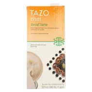 Tazo Tea Decaf Tea - Chai Latte - Case Of 6 - 32 Fl Oz