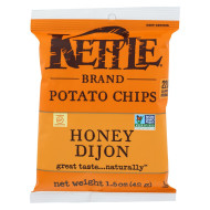 Kettle Brand Potato Chips - Honey Dijon - Case Of 24 - 1.5 Oz.
