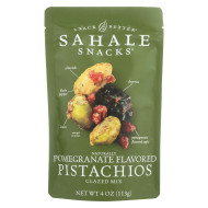 Sahale Snacks Premium Blend Pistachio - Pomegranate - Case of 6 - 4 oz.