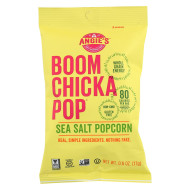 Angie'S Kettle Corn Boom Chicka Pop Sea Salt Popcorn - Case Of 24 - 0.6 Oz.