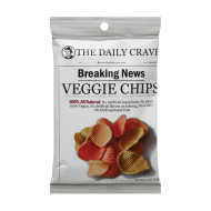 The Daily Crave Veggie Chips - Case Of 24 - 1 Oz.