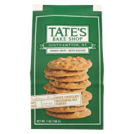 Tate'S Bake Shop White Chocolate Macadamia Nut Cookies - Case Of 12 - 7 Oz.