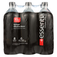 Essentia Hydration Perfected Drinking Water - 9.5 ph. - Case of 12 - 1 Liter