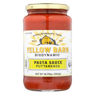 Yellow Barn Biodynamic - Puttanesca Pasta Sauce - Case Of 6 - 19.75 Oz.