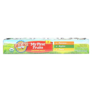 Earth'S Best Organic My First Fruits Starter Pack Baby Food - Case Of 1 - 2.5 Oz.