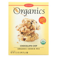 European Gourmet Bakery Organic Chocolate Chip Cookie Mix - Chocolate Chip - Case Of 12 - 12.3 Oz.