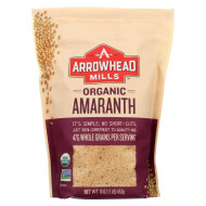Arrowhead Mills Whole Grain Amaranth - Case of 6 - 16 oz.