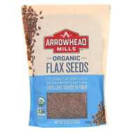 Arrowhead Mills Organic Flax Seeds - Case Of 6 - 16 Oz.