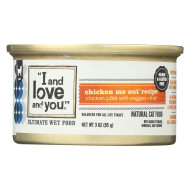 I and Love and You Chicken Me Out - Wet Food - Case of 24 - 3 oz.