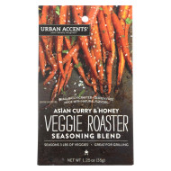 Urban Accents Veggie Roaster - Asian Curry and Honey - Case of 6 - 1.25 oz.