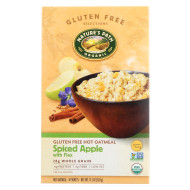 Nature'S Path Organic Hot Oatmeal - Spiced Apple With Flax - Case Of 6 - 11.3 Oz.