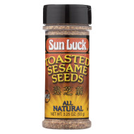 Sun Luck Sesame Seed - Toasted - Case Of 12 - 3.25 Oz