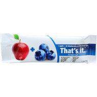 That'S It Fruit Bar - Apple And Blueberry - Case Of 12 - 1.2 Oz