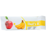 That'S It Fruit Bar - Apple And Banana - Case Of 12 - 1.2 Oz