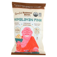 Lesser Evil Popcorn - Organic Coconut Oil And Himalayan Pink - Case Of 12 - 5 Oz.